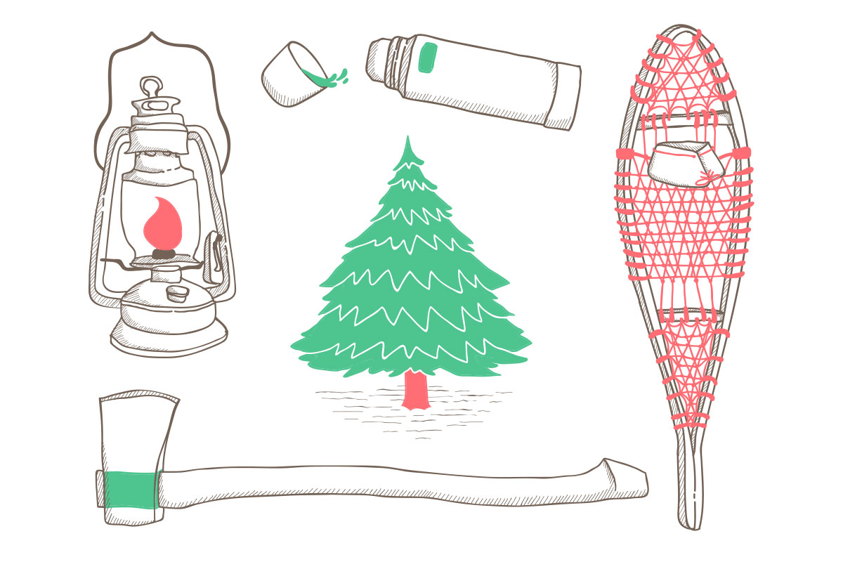 Printable holiday cards - free download