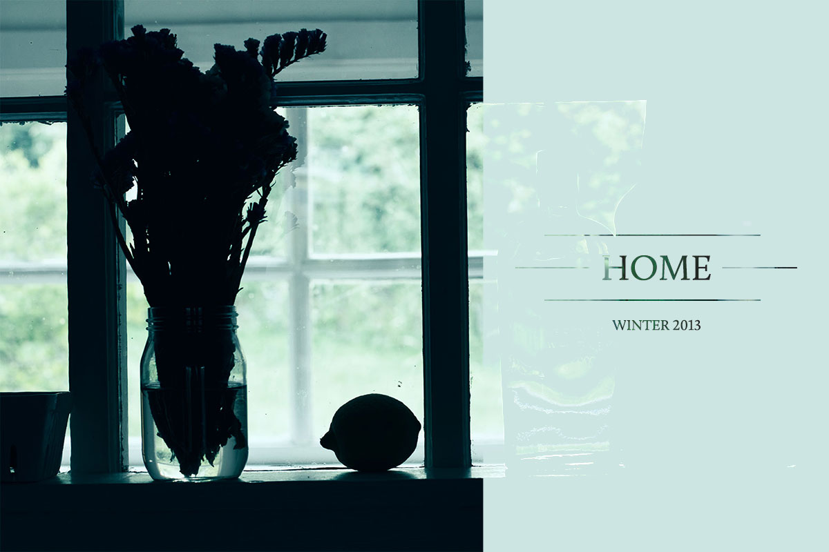Grounded Magazine - Winter 2013: Home